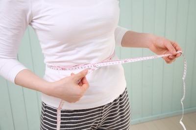 ウエストサイズを測定