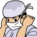 手術前の看護師さん