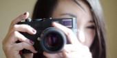 カメラで撮影